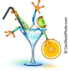 Cocktailfrosch