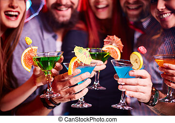 Cocktailparty.
