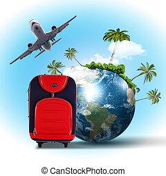 collage, reisen tourismus