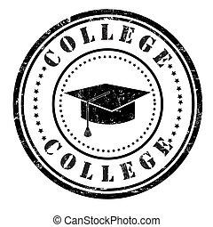College Stempel.