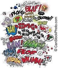 Comic-Buchworte