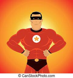 comic-like, super-hero