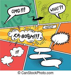 Comic Strip-Redeblasen