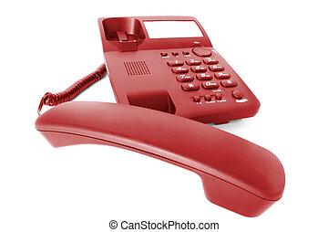communications., telefon, buero