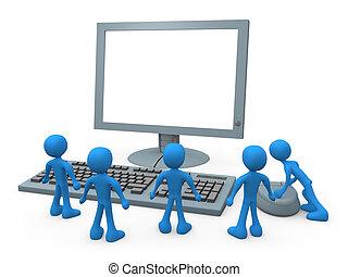 Computer-Jungs