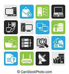 Computer-Netzwerk-Icons.