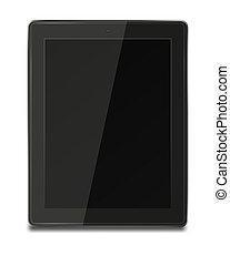 computer., tablette pc