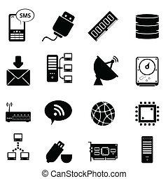 Computer und Technologie-Ikonen