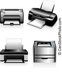 Computerdrucker - Laserdrucker.