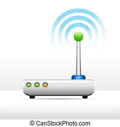 Computermodusm Antennensignalbild