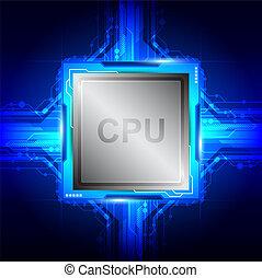 computertechnologie, prozessor