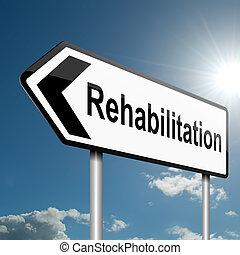 concept., rehabilitation