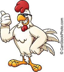 Cooles Hühnchen