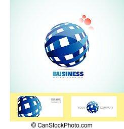 Corporate Business Sphäre Logo 3d.