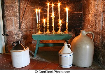 Country Candelabrum