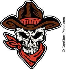 Cowboyschädel.