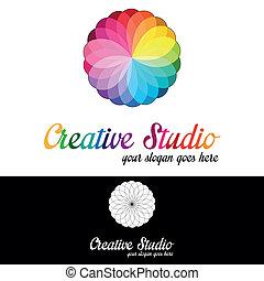Creative Studio Logo-Vorlage.