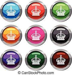 Crown Set 9 Sammlung