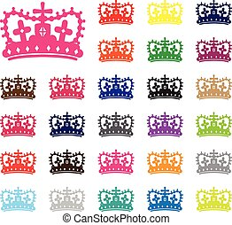 Crown Silhouettes.