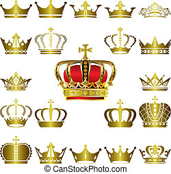Crown und Tiara Symbole gesetzt.