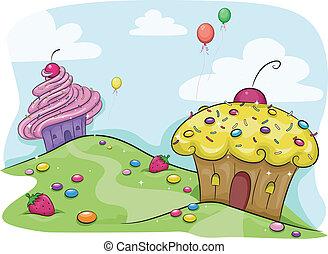 Cupcake-Land