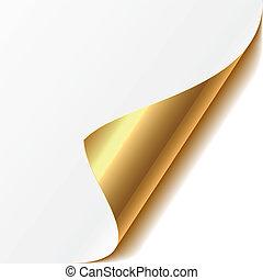 Curled Ecke