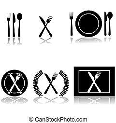Cutler und Teller-Ikonen