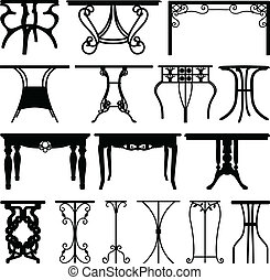 daheim, buero, möbel, design, tisch
