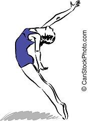 Dancer Illustration 2.