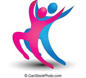 Dancer schätzt das Logo