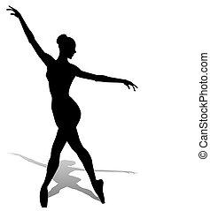 Dancer Silhouette.
