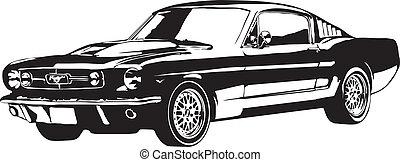 Das Auto in EPS