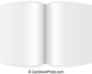 Das Blatt mit dem leeren Magazin.