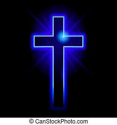 Das christliche Symbol des Kreuzes