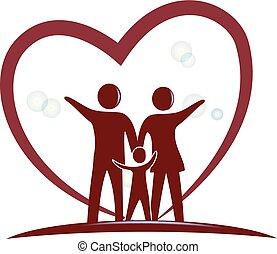 Das Familienherz-Logo.