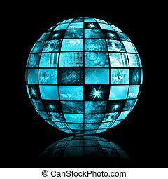 Das globale Netz der Telekommunikationsindustrie