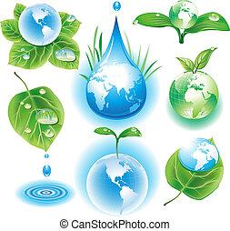Das Konzept der Ökologiesymbol