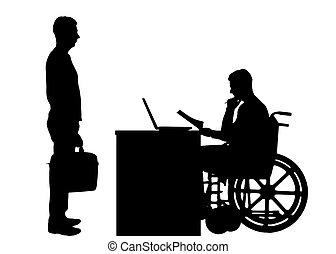 Das Konzept der behinderten Arbeitnehmer
