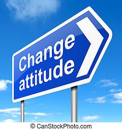 Das Konzept der Einstellung ändern.