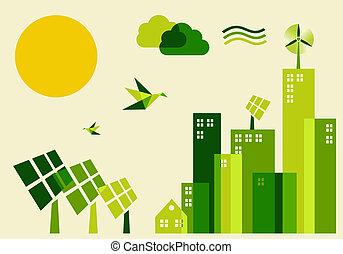 Das Konzept der nachhaltigen Entwicklung der Stadt