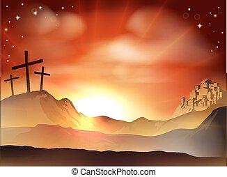 Das Kreuz.