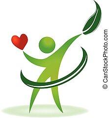 Das Logo der Gesundheits-Herzpflege.
