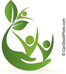 Das Logo der Gesundheits-Naturpflege.