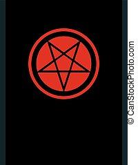 Das Pentagramm der dunklen Kunst