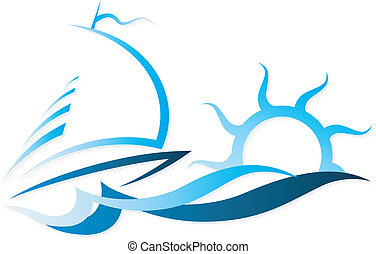 Das Schiff auf Wellenvektor.