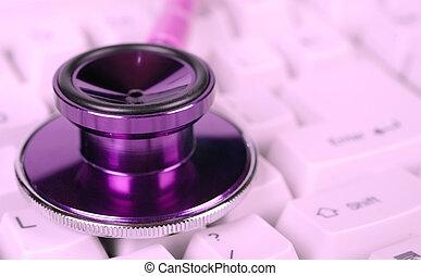 Das Stethoskop der weiblichen Gesundheit