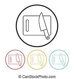 Das Symbol für die Tafel.