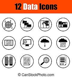 Data Icons eingestellt