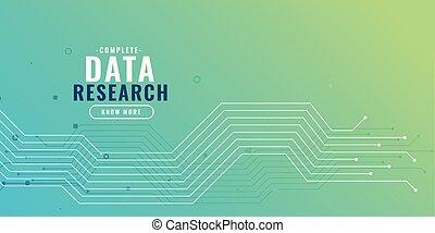 Datenerforschung mit Schaltplan.