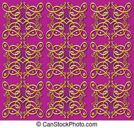Decorative orientalische Tapeten-Hintergrund